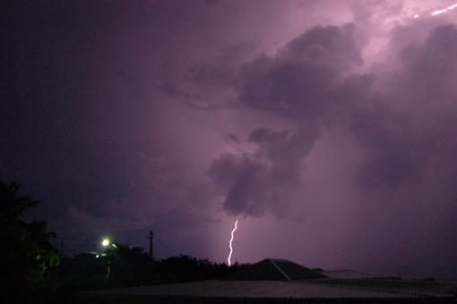 photo: orage planche: couleur