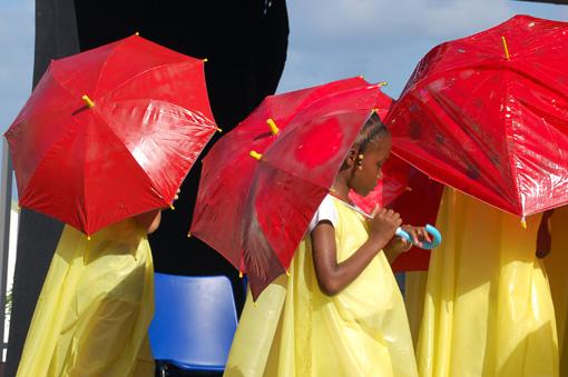 photo: ombrelles planche: carib